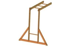 Next Generation climbing frame monkey bar