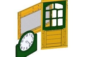 Next Generation climbing frame windows and door