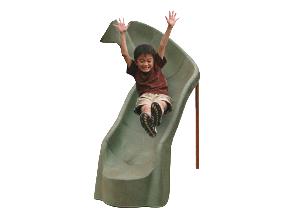 288cm Curved Slide