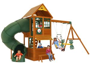 Epic Climbing Frame with Children Playing
