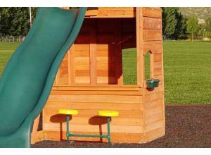 Selwood Lower Playhouse 150cm (5ft) Deck Height