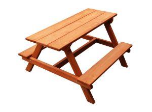 Children's Wooden Picnic Table