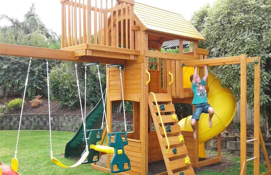 All-in-One Garden Play Equipment