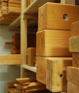 China Cedar Wood Parts