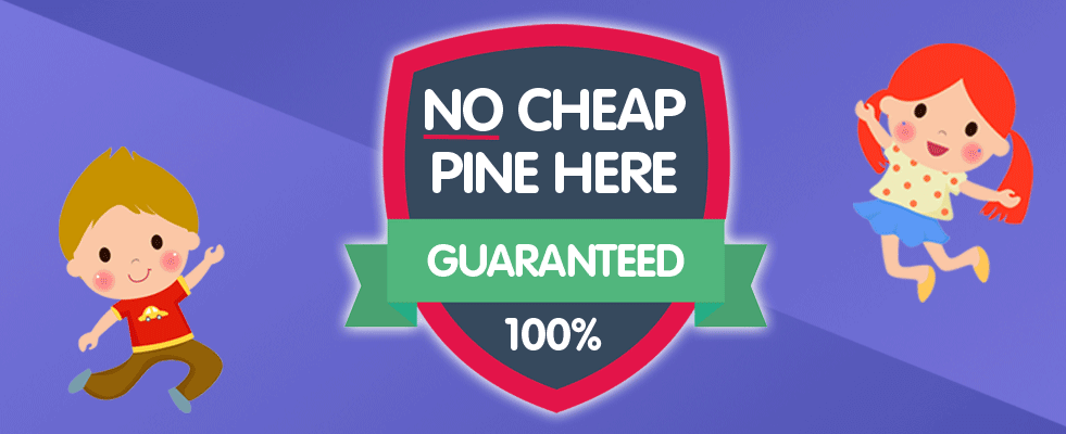 No Cheap Pine Here